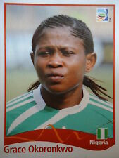 PANINI Grace Okoronkwo Nigeria Fifa donne WM 2011 GERMANY