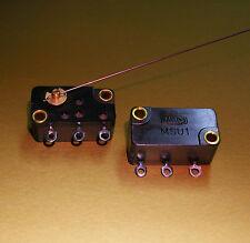 1 Stück Mikroschalter Harting MSU1 für Flipper Münzprüfer etc.