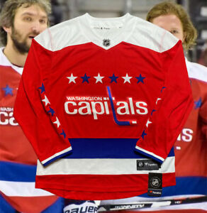 Washington Capitals Jersey Fanatics Mens Large Red Alternate Retro New With Tags