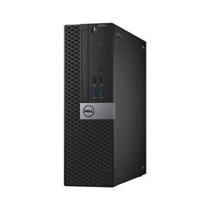 DELL Core i5 6th Gen SFF Desktop PC 16GB RAM 512GB SSD Fast Computer Win 10 WiFi