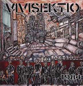 "VIVISEKTIO ""1984"" LP, LIKE NEW! GREAT FINLAND OLD SCHOOL HARDCORE-PUNK!"