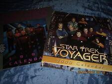 STAR TREK  Kalender  VOYAGER 2000  + Next Generation 1996 , FILM Fanartikel ,ovp