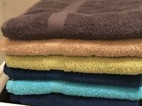 400 GSM Midnight Blue Egyptian cotton bath towel 25x50 Inches 4pack