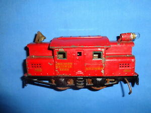 IVES #3252 0-4-0 Electric Locomotive. Runs Well
