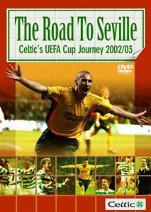 Celtic FC - The Road To Seville (DVD, 2003, 2-Disc Set) FREE SHIPPING