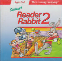 READER RABBIT 2 DELUXE 1996 +1Clk Windows 10 8 7 Vista XP Install
