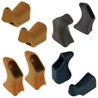BRAKE LEVER HOODS INNER OUTER CABLE BROWN BLACK BIKE VINTAGE ROAD CLASSIC RUBBER