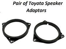 CT25TY02 TOYOTA AURIS FRONT DOOR OR REAR SIDE PANEL SPEAKER ADAPTOR 165MM