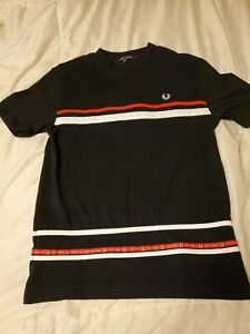 Fred Perry Black T-Shirts for Men for sale   eBay