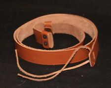 MILITARY WWI STYLE ENFIELD SMLE 1907 NO 1 MK 1 2 3 BROWN LEATHER RIFLE SLING 47""