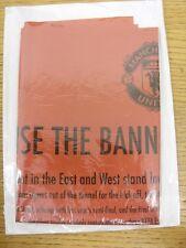 29/04/2009 European Cup Semi-Final: Manchester United v Arsenal - 'Raise The Ban