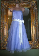 Ladies Alfred angelo lilac purple stunning bridesmaid prom party dress size 12