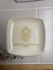 ALDROVANDI PALACE HOTEL ROMA ASH TRAY