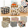 Collapsible Fabric Storage Boxes Basket Home Cubes Car Containers Organizer