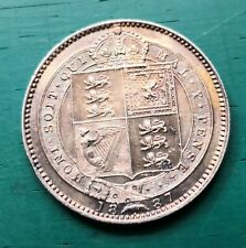 More details for 1887 queen victoria shilling #552