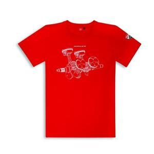 V4 Panigale Ducati T-shirt REDUCED