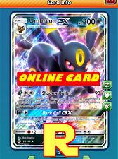 Umbreon GX - Regular - for Pokemon TCG Online ( ptcgo in Game Card)