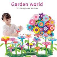 148 PCS/Set Flower Garden Building Toys Children Toy