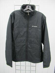 H1752 Men's Columbia Full-Zip Windbreaker Jacket Size L
