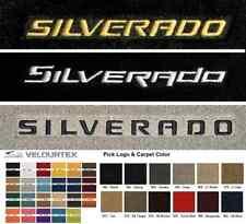Lloyd Mats Chevrolet Silverado Custom Velourtex Front Floor Mats (1999 & Up)