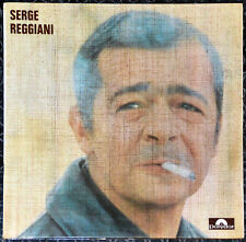 33t Serge Reggiani - Je voudrais pas crever - LP
