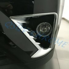 Chrome Foglight Fog Light Trim For Toyota RAV4 (facelift) 2016 2017 Accessories