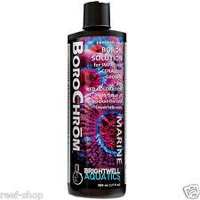 Brightwell BoroChrom 500mL Purple Coralline Algae Enhancer Free USA Shipping