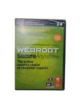 SEALED 3 DEVICE Webroot Internet Security WINDOWS 8 Compatible PC Mac or Mobile
