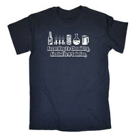 Funny Novelty T-Shirt Mens tee TShirt - According To Chemistry Alcohol Is A Solu
