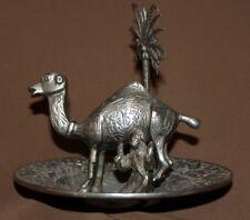Vintage hand made brass bull statuette