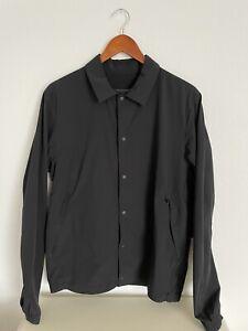 Lululemon Mens Black Coaches Jacket M