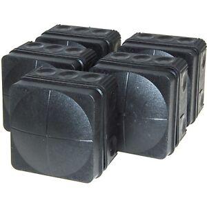 5 X Wiska Combi 108/5/S Black Weatherproof Cable Junction Boxes IP66 - 61998