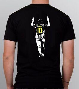 Messi T-shirt Lionel 10 Argentina Barcelona Soccer S - 5XL + KIDS SIZES!!