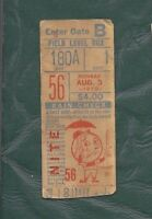 1970 8/3 baseball ticket Chicago Cubs v New York Mets, Jenkins WIN Ron Santo RBI
