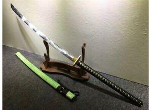 Big Long Handle Katana Nagamaki Sword Tempered T10 High Carbon Steel Nagimaki