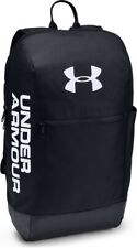 Under Armour Patterson Backpack Rucksack Bag - Travel Gym Sports - Black