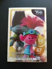 Topps dream works trolls world tour poppy & branch limited edition card x 1