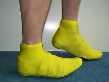 Lycra Time Trial Overshoe Flo Yellow  Size M
