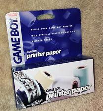 Nintendo Game Boy - Printer Paper - Papier pour Imprimante ( 3 Rouleaux ) - Neuf