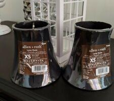 "Allen+Roth XS 3.25""x5.25""x5"" Lamp Shade - Black - Set of 2 - NEW"