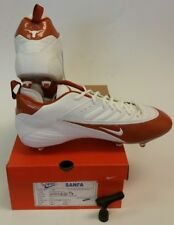 NEW Nike SPD Football Cleat Shoe Promo Sample White/Orange Texas Longhorns Sz 14
