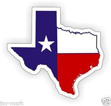 Texas Flag Map Motorcycle Helmet Decal | Hard Hat Stickers | Welder Labels Tex