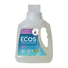 Earth Friendly Products Ecos Liquid Laundry Detergent, Lavender, 100 Ounce