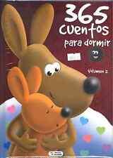 365 CUENTOS PARA DORMIR, VOLUMEN II, EN ESPAÑOL