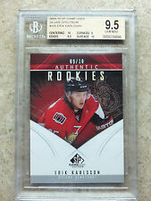 09-10 UD SP Game Used SPGU RC Rookie ERIK KARLSSON Spectrum /10 Graded BGS 9.5