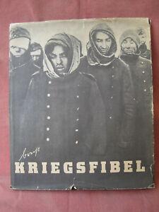 Bertholt Brecht Kriegsfibel 1.-10. Tausend Eulenspiegel 1955 mit Schutzumschlag
