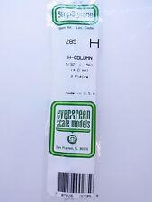 12962 | Evergreen Scale Models 285 H-Profil 4,0 mm 3 Stk. Modellbau NEU OVP