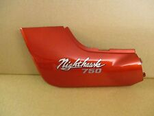 HONDA CB 750 NIGHT HAWK Left Hand (L/H) Red Side Panel / Side Cover (OU0486)