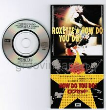 """ROXETTE How Do You Do/Fading Like A Flower(Live) JAPAN 3"""" CD TODP-2373 Unsnapped"""