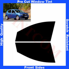 Pre Cut Window Tint Dacia Sandero Hatchback 5D 2012-... Front Sides Any Shade